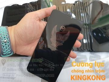 Cường lực chống nhìn trộm KINGKONG iPhone XsMax